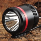 K1TR3 150lm 1-LED Cool White 6-Mode Bike Light - Black + Red (3.0~5.0V)
