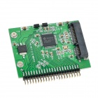 mSATA to 2.5'' IDE 44-Pin Adapter Card - Green + Black