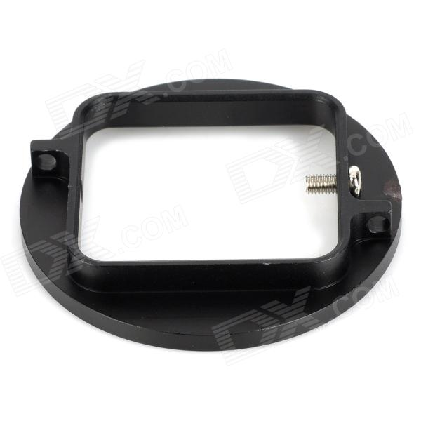 52mm UV Lens Filter Adapter for GoPro Hero 3+ - Black
