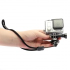 Hand Strap + Tripod Mount for Sport Camera / Gopro Hero 4/2 / 3 / 3+/SJ4000 - Black + Silver Grey