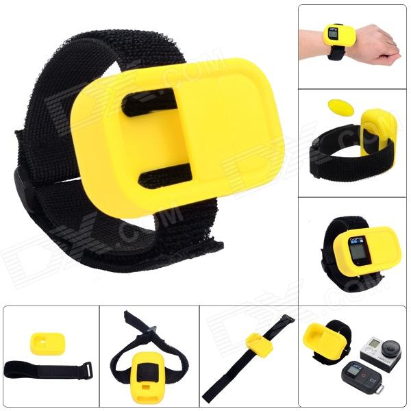 Fat Cat Elastic Wrist Belt Silicone Protective Case for GoPro Hero 3+ / 3 Wi-Fi Remote Control
