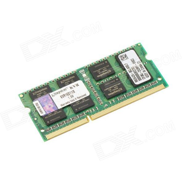 kingston ValueRAM KVR16S11 / 8 8GB kannettavan muisti