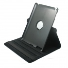 PU Leather 360 Degree Rotation Case for IPAD 2 / 3 / 4 - Black