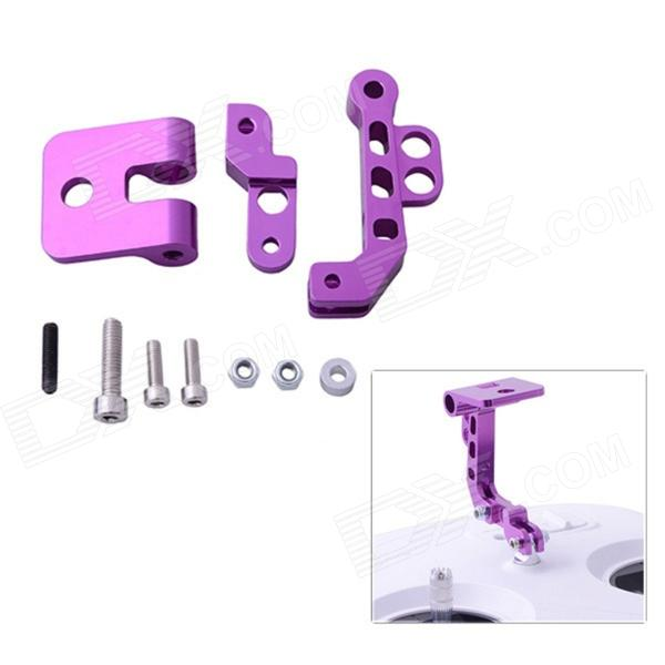 CNC Aluminum Alloy FPV Monitor Mounting Bracket for DJI - Purple high quality 3d model relief for cnc or 3d printers in stl file format panno general duhi