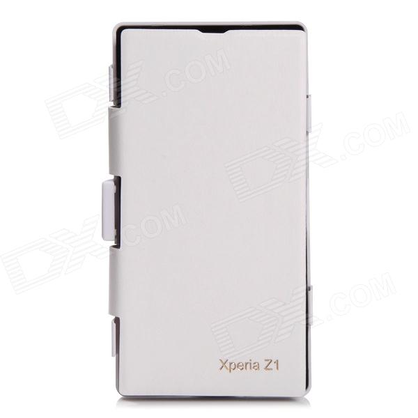 newest c8b81 6f0e1 Qi Standard Wireless Charger Receiver Protective Case for Sony L39h (Xperia  Z1) - White