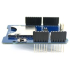 SD / TF Card Shield V1.0 Expansion Board Module for Arduino - Blue + Black + Silver