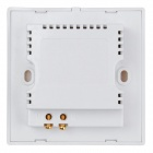 Universal 3A 5V 4-Port USB Wall Plate Charging Socket - White