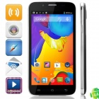 "C2000 MTK6582 Quad-core Android 4.4.2 WCDMA Bar Phone w/ 5.0"" IPS, FM, Wi-Fi and GPS - Grey"