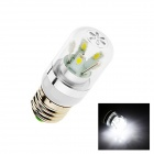 E27 6W 260lm 10-SMD 5630 LED Cool White Light Lamp Bulb (AC 85~265V)