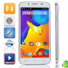 "C2000 MTK6582 Quad-core Android 4.4.2 WCDMA Bar Phone w/ 5.0"" IPS, FM, Wi-Fi and GPS - White"