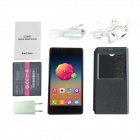 "CUBOT S208 MTK6582 Quad-core Android 4.4 WCDMA Bar Phone w/ 5.0"" OGS QHD, Wi-Fi and GPS - Black"