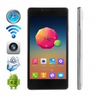 "CUBOT S208 MTK6582 Quad-core Android 4.4 WCDMA Bar Phone w/ 5.0"" OGS QHD, Wi-Fi and GPS - White"