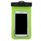 P92 Waterproof PVS + ABS Bag for Samsung Galaxy S3 / S4 - Green + Black