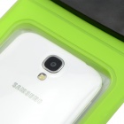 Waterproof PVS + ABS Bag for Samsung Galaxy S3 / S4 - Green + Black