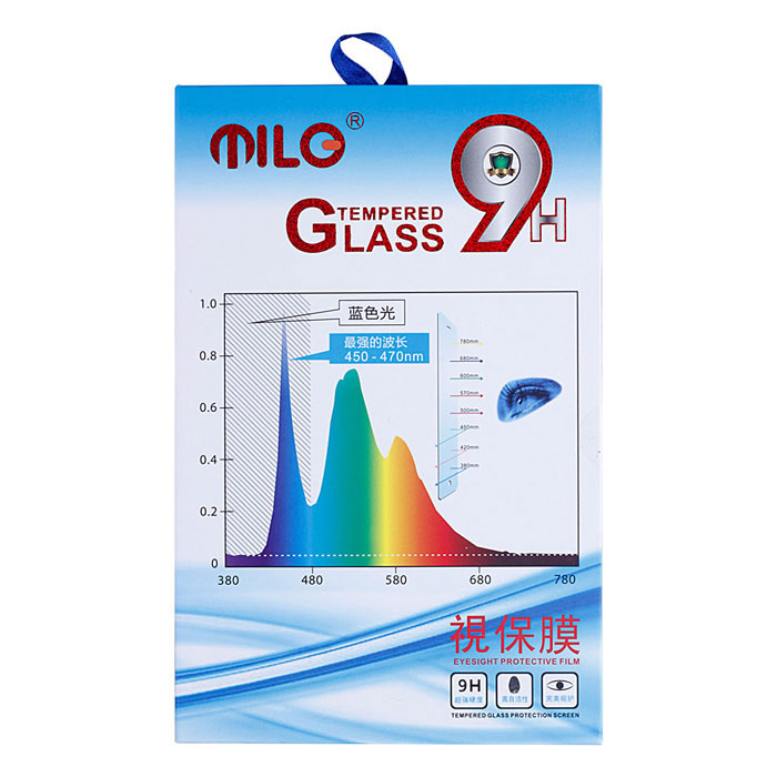 MILO Third Generation Ultra Thin 0.2mm Tempered Glass Screen Protector for Samsung Galaxy S5 free shipping the third generation of the whole intelligent large capacity without oil electric deep fryers