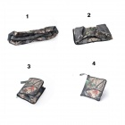 Outdoor Travel Camping Folding Shoulder Bag - Bionic Camouflage