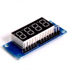 "0.36"" 4-Digit Digital Display Module - Blue + Black + White"