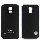 Protective Aluminum Alloy Back Case Frame Cover for Samsung Galaxy S5 - Black + Silver