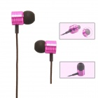 XIAOMI 3.5mm Stereo In-ear Earphone for MI2 MI2S MI2A Mi1S M1, JIAYU G4, G3S, G2S - Deep pink