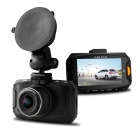 "BLACKVIEW Ambarella A7 2.7"" LCD 1080P 5.0 MP COMS Car DVR w/ G-sensor, Loop-cycle Recording, HDR"