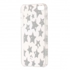 Star Pattern Protective Plastic Back Case for IPHONE 5 / 5S - Black+ Transparent