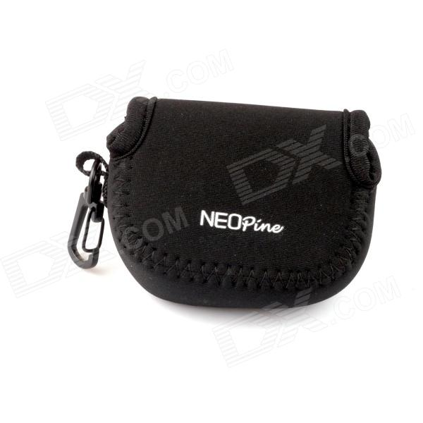 NEOpine Mini Protective Neoprene Camera Case Portable Bag for Gopro Hero 4/ 3+ / 3 / 2 / SJ4000 - Black