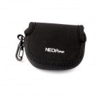 NEOpine Mini Protective Neoprene Camera Case Portable Bag for GoPro Hero 3+ / 3 / 2 / SJ4000 - Black