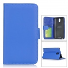 Protective Flip Open PU Leather Case w/ Stand for Samsung Galaxy Note 3 / N9006 / N9000 / N9002
