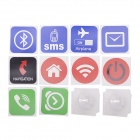 NXP NTAG203 Smart NFC Tags w/ Stickers for Sony / HTC / Samsung / LG / Nokia / Acer + More