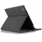 ENKAY ENK-3171 Protective PU Leather Case Cover Stand w/ Auto Sleep for IPAD 2 / 3 / 4 - Black