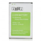 IKKI Replacement 3.8V / 4000mAh Rechargeable Li-ion Battery for Samsung Galaxy Note 3 / N9000 + More