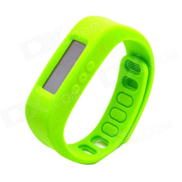 "1.7"" LCD Bluetooth V2.1 Intelligent Health Bracelet Motion Record / Sleep Monitor / Stopwatch -Green от DX.com INT"