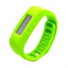 "1.7"" LCD Bluetooth V2.1 Intelligent Health Bracelet Motion Record / Sleep Monitor / Stopwatch -Green"