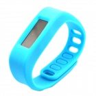 "1.7"" LCD Bluetooth V2.1 Intelligent Health Bracelet Motion Record / Sleep Monitor / Stopwatch - Blue"