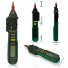 MASTECH MS8212A multifunksjonelle penn stil Digital Multimeter - Black + grønn