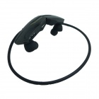 Rechargeable Sports Music Bluetooth V3.0 Headset w/ Microphone - Black