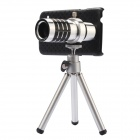 EPGATE A1520 Mobile Phone Telephoto Lens w/ Tripod for Samsung Galaxy S5 - Silver