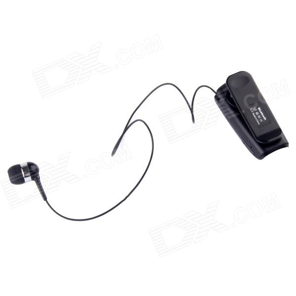 fineblue f910 retractable 2 in 1 in ear bluetooth v3 0 headset w vibrating a. Black Bedroom Furniture Sets. Home Design Ideas