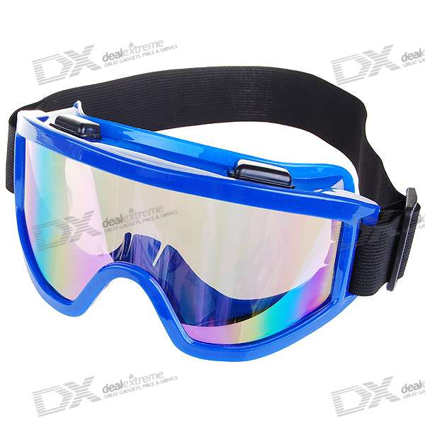 UV Protection Resin Lens Glasses/Goggles (Blue)