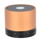 EWA Portable 5W 3.5mm Jack Speaker w/ SD / TF / FM - Copper
