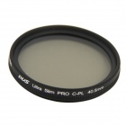 NISI 40.5mm PRO CPL Ultra Thin Circular Polarizer Lens Filter - Black Grey