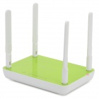 JCG JJYR-AC680 1200Mbps Dual Band Intelligent Wireless Router w/ 4-Antenna - Green + White