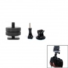 JUSTONE J031 Hot Shoe Connecting + Mount Adapter + Screw for GoPro Hero 2 / Hero 3 / 3+ - Black