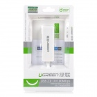 UGreen 20268 USB 2.0 filaire 10 / 100 Mbps Ethernet Network Adapter - blanc
