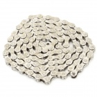 Stainless Steel Replacement 8-Speed Bicycle Chain - Silver