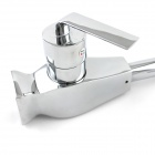 Brass YDL-F-0558 cromato Kitchen Sink Faucet - Argento