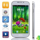 "G900 MTK6582 Quad-Core Android 4.2.2 WCDMA Bar Phone w/ 5.0"" 4GB ROM, Wi-Fi, GPS - White"