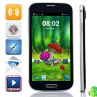 "G900 MTK6582 Quad-Core Android 4.2.2 WCDMA Bar Phone w/ 5.0"" 4GB ROM, Wi-Fi, GPS - Sapphire Blue"