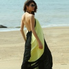 Color Blocked Maxi Dress - Yellow