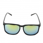 Fashion UV400 Protection Sunglasses for Women - Black + Golden